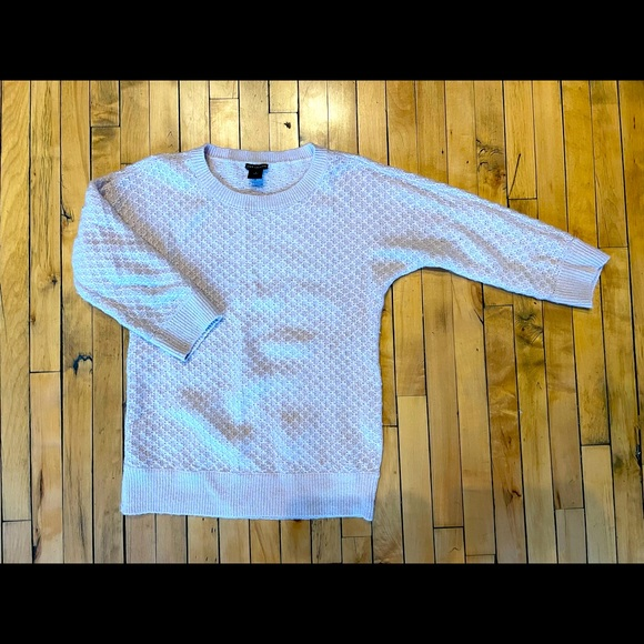 Lavender Ann Taylor Wool Sweater, Size S
